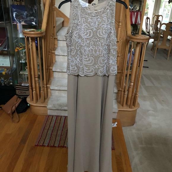J Kara Dresses | Sleeveless Beaded Evening Gown | Poshmark